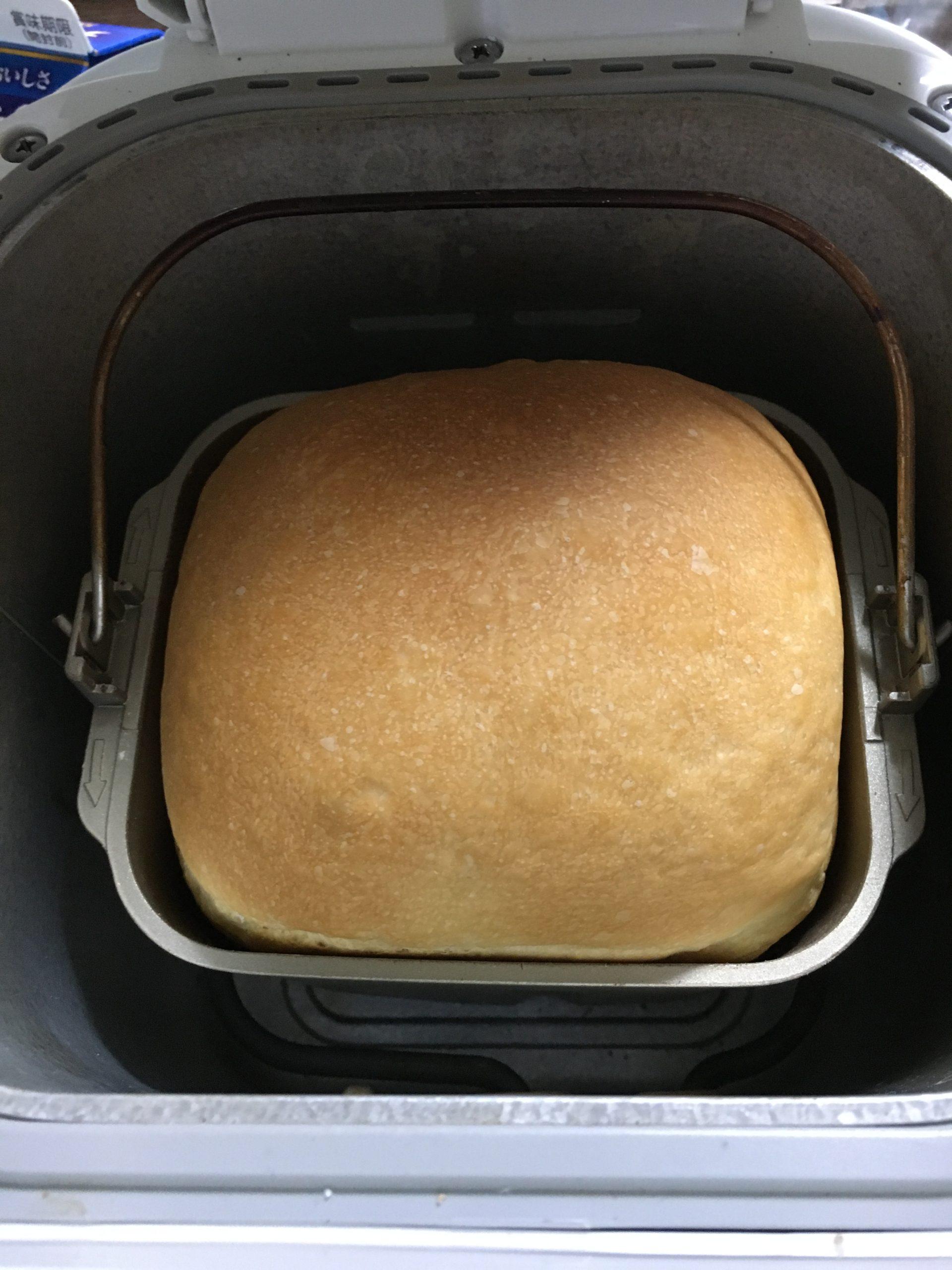 湯種食パン上から